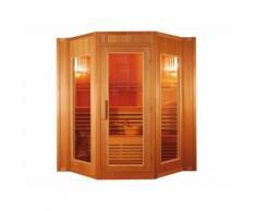 Sauna Traditionnel Finlandais 4/5 places Gamme prestige GÖTEBORG II - L200*P175*H200cm