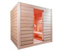 items-france COMBISEL 4PL - Sauna hybride infrarouge & vapeur combisel 4 pla...