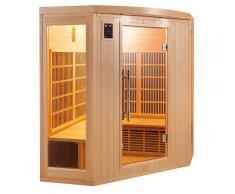 items-france APOLLON 3/4 PL - Sauna infrarouge apollon 3/4 places 150x150x190cm