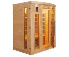 items-france APOLLON 3 PL - Sauna infrarouge apollon 3 places 153x110x190cm