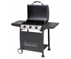 CARREFOUR DETROIT - Barbecue gaz - 3 brûleurs - 1193-08