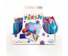 CONNABRIDE Comprend 1 sac isotherme 3L, 1 bloc réfrigérant 200g et 1 boite lunch box 750 ml