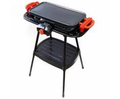 MANDINE Barbecue électrique sur pieds - MBGP2000S-17
