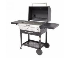 LE BARBECUE Barbecue à charbon de bois sur chariot CR1000 - 810-0021C