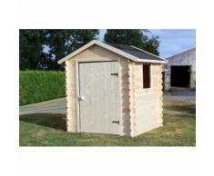SOULET Maisonnette en bois brut ROMANE - 788672