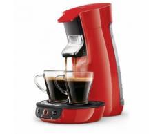 PHILIPS Machine à café Senseo Viva Café - HD6563/81 - Rouge