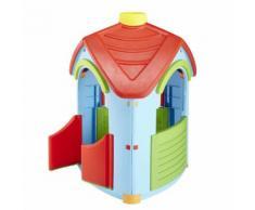 PALPLAY Maisonnette plastique - L 102 x l 95 x H 126 cm - OD108541