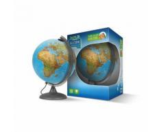 IXPLO Globe terrestre lumineux deux cartographies : physique et politique - TY17255