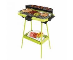 BE NOMAD Barbecue électrique sur pieds vert DOM297V