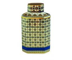 Easy Life 2064AMLB Diffuseur Parfum, Porcelaine, Multicouleur, 10,5 x 4 x 15 cm