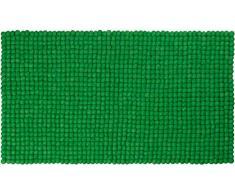 myfelt Franz Feutre Boule de Chemin De Table rectangulaire, Laine Vierge, Vert, Laine Vierge, Vert, 40 x 70 x 1.5 cm