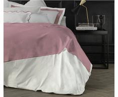 Suite 2603 by Adolfo Carrara Studio Design Drap supérieur, 100% Coton, lit, 39x 26x 4cm 39x26x4 cm Quarzo