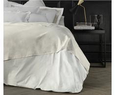 Suite 2603 by Adolfo Carrara Studio Design Drap supérieur, 100% Coton, lit, 39x 26x 4cm 39x26x4 cm Ivoire (ral 1013)