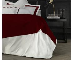 Suite 2603 by Adolfo Carrara Studio Design Drap supérieur, 100% Coton, lit, 39x 26x 4cm 39x26x4 cm Brique