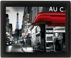 Empire merchandising 558091 paris eiffel tower multicolore poster encadré 3D-dimensions 20 x 25 cm