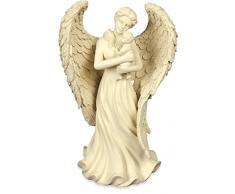 Angelstar Figurine Ange et Table Femelle bébé et Enfant, en métal, Multicolore
