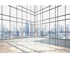 Papier Peint poster panoramique FOR RENT 4 x 2,70 m | Déco et photo murale XXL Qualité HD Scenolia