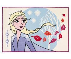 FUN HOUSE 713253 Disney Reine des NEIGES Tapis pour Enfant, Violet