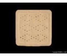 Baveno Grund Tapis de douche 55Â x 55Â cm beige