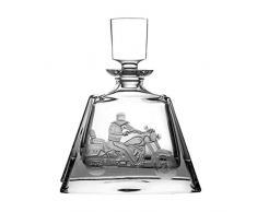 Crystaljulia 8088 Carafe à whisky en cristal transparent