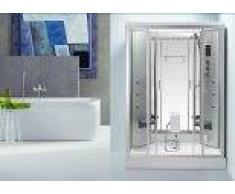 items-france DUO HAMMAM - Cabine de douche hydromassante hammam 2 personnes 140x...
