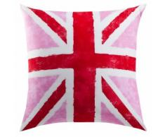 Taie d'oreiller ou de traversin drapeau anglais Coton Old FLag
