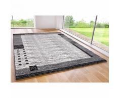 Tapis carré ou rectangulaire motif bordure velours my home