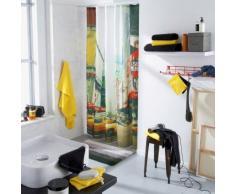 Rideau de douche textile imperméable imprimé photoprint New-York