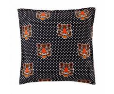 Taie d'oreiller ou de traversin coton imprimé Hobbes