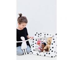 Mini tente à pois Deuz blanc / ecru 100% coton en TU