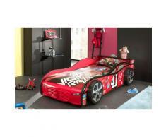 Lit voiture Racer 41 - Rouge