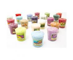 Lot de 9 Bougies Parfumées Yankee Candle
