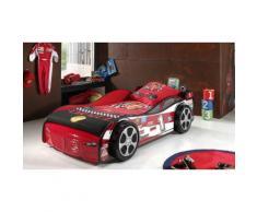 Lit voiture Racer 01 - Rouge