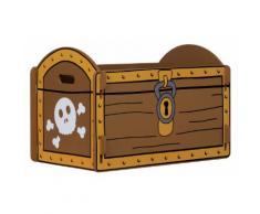 Meubles pirates pour enfants Kidsaw: Coffre de jeu pirate