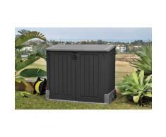 Coffre de rangement de jardin en résine - 845L