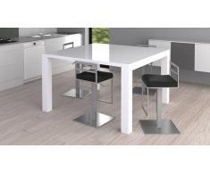 MobilierMoss Table à manger haute extensible moderne et laquée - Kalis