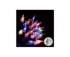 Guirlande lumineuse Musicale Multicouleur 50 Ampoules