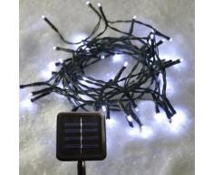 Guirlande lumineuse Solaire 16 m Blanc froid 175 LED