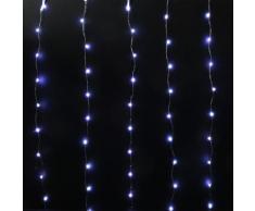 Rideau lumineux H1 m Blanc froid 120 Micro LED