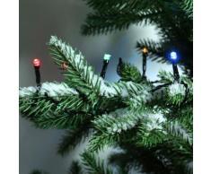 Guirlande lumineuse Durawise 7,10 m Multicouleur 96 LED CN