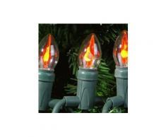 Guirlande lumineuse Ampoule Orange 10 LED