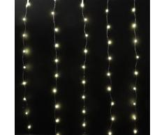 Rideau lumineux H1 m Blanc chaud 120 Micro LED