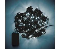 Guirlande lumineuse clignotante 160 LED blancs froids - L3.80m