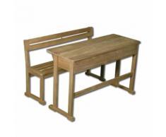 Bureau enfant en acacia style ancien
