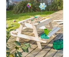 Table bac à sable en bois pour enfant