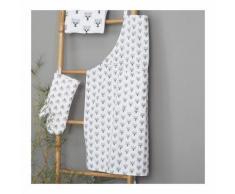 Tablier - Panda couleur ARGENT Monoprix Maison