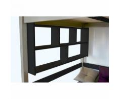 Étagère Murale - Couleur - Noir, Dimensions - Largeur 90