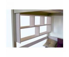 Étagère Murale - Couleur - Violet Pastel, Dimensions - Longueur 200