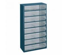 casier métallique équipé de 16 tiroirs 150-04,