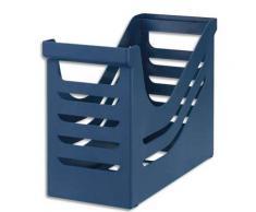 Bac de classement pour dossiers suspendus Jalema - polystyrène - capacité 15 dossiers - bleu